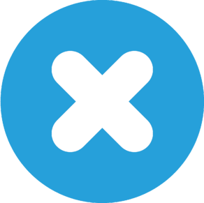 Cross symbol.