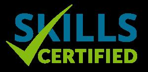 Skills Certified logo.